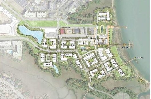 The Waterfront Daniel Island Site Plan